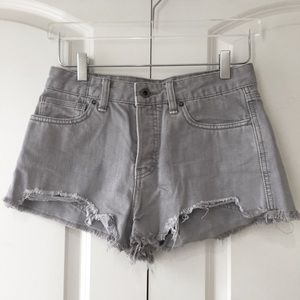 Free People Logan Denim Cutoffs
